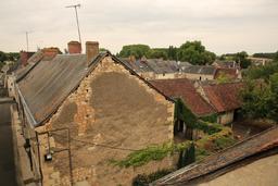 Saint-Épain, les toits de la ville. Source : http://data.abuledu.org/URI/55dd7f03-saint-epain-les-toits-de-la-ville