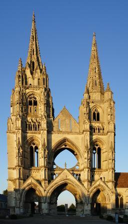 Abbaye Saint Jean des Vignes à Soissons. Source : http://data.abuledu.org/URI/537a109f-saint-jean-des-vignes