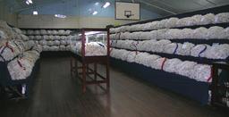 Salle d'exposition de laine australienne. Source : http://data.abuledu.org/URI/512a2d13-salle-d-exposition-de-laine-australienne