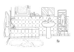 Salle de bains. Source : http://data.abuledu.org/URI/5027a217-salle-de-bains