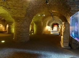 Salle gallo-romaine au musée archéologique de Dijon. Source : http://data.abuledu.org/URI/5820c5bd-salle-gallo-romaine-au-musee-archeologique-de-dijon
