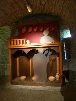 Salle gallo-romaine au musée archéologique de Dijon. Source : http://data.abuledu.org/URI/5820cd8b-salle-gallo-romaine-au-musee-archeologique-de-dijon