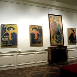 Salon Aristide Bruant au Palais de la Berbie à Albi. Source : http://data.abuledu.org/URI/59c18f1c-salon-aristide-bruant-au-palais-de-la-berbie-a-albi