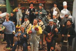 Santons célèbres. Source : http://data.abuledu.org/URI/50e8e461-santons-celebres
