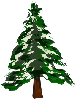 Sapin vert stylisé. Source : http://data.abuledu.org/URI/5407c95b-sapin-vert-stylise