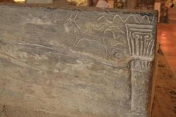 Sarcophage paléochrétien à Saint-Seurin. Source : http://data.abuledu.org/URI/55aed711-sarcophage-paleochretien-a-saint-seurin