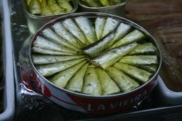 Sardines à l'huile. Source : http://data.abuledu.org/URI/52e427f8-sardines-a-l-huile