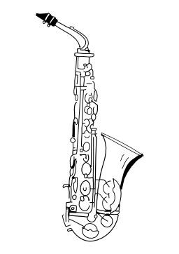 Saxophone. Source : http://data.abuledu.org/URI/5027a380-saxophone