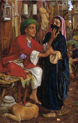 Scène de rue au Caire dans les années 1850. Source : http://data.abuledu.org/URI/544f1fdf-scene-de-rue-au-caire-dans-les-annees-1850