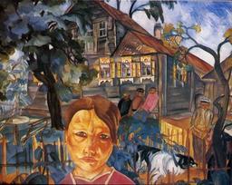 Scène de village en Russie en 1918. Source : http://data.abuledu.org/URI/528d528c-scene-de-village-en-russie-en-1918