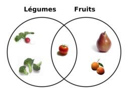 Schéma légumes et fruits. Source : http://data.abuledu.org/URI/5041ee0d-schema-legumes-et-fruits