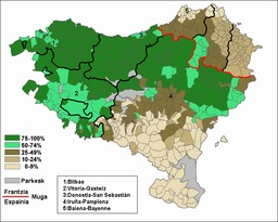 Scolarité basque de 2000 à 2005. Source : http://data.abuledu.org/URI/52bc5517-scolarite-basque-de-2000-a-2005
