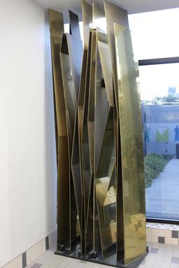 Sculpture dans le métro de Montréal. Source : http://data.abuledu.org/URI/59782423-sculpture-dans-le-metro-de-montreal