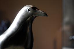 Sculpture de tête d'oiseau. Source : http://data.abuledu.org/URI/52b20e87-sculpture-de-tete-d-oiseau