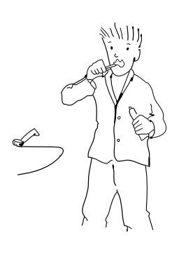 Se brosser les dents. Source : http://data.abuledu.org/URI/5027a41c-se-brosser-les-dents