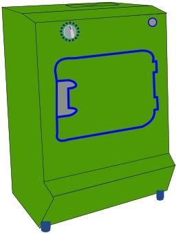 Sèche-linge électrique. Source : http://data.abuledu.org/URI/5101b9d7-seche-linge-electrique