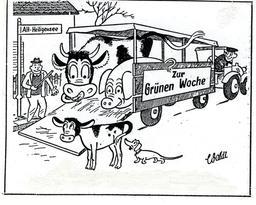 Semaine verte à Berlin en 1948. Source : http://data.abuledu.org/URI/5343e32f-semaine-verte-a-berlin-en-1948