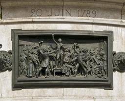 Serment du jeu de Paume du 20 juin 1789. Source : http://data.abuledu.org/URI/53e28dc4-serment-du-jeu-de-paume-tennis-du-20-juin-1789