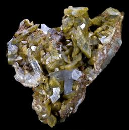 Sidérite et Quartz. Source : http://data.abuledu.org/URI/5066fcc2-siderite-et-quartz