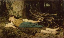 Sieste dans les bois. Source : http://data.abuledu.org/URI/519e93c8-sieste-dans-les-bois