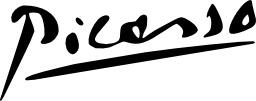 Signature de Picasso. Source : http://data.abuledu.org/URI/5019a5f6-signature-de-picasso