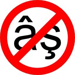 Signes diacritiques interdits. Source : http://data.abuledu.org/URI/50e4e078-signes-diacritiques-interdits