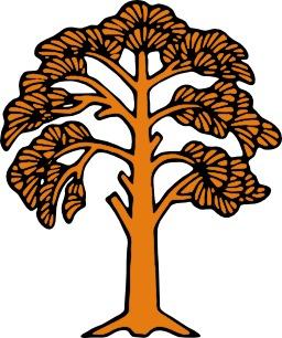 Silhouette d'arbre. Source : http://data.abuledu.org/URI/5070840d-silhouette-d-arbre