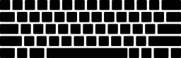 Silhouette de clavier d'ordinateur vierge. Source : http://data.abuledu.org/URI/543575b8-silhouette-de-clavier-d-ordinateur-vierge