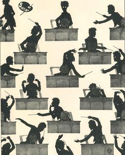 Silhouettes de Gustav Mahler. Source : http://data.abuledu.org/URI/514f3cb0-silhouettes-de-gustav-mahler
