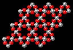 Silice cristalline. Source : http://data.abuledu.org/URI/50a2e7eb-silice-cristalline