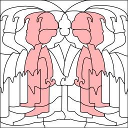 Sillhouettes de garçons. Source : http://data.abuledu.org/URI/54032e5e-sillhouettes-de-garcons
