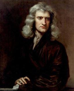 Sir Isaac Newton. Source : http://data.abuledu.org/URI/50c3aa92-sir-isaac-newton
