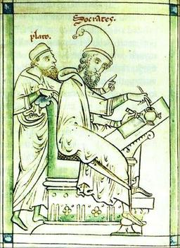 Socrate et Platon. Source : http://data.abuledu.org/URI/5061ca7b-socrate-et-platon