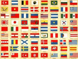 Soixante-douze drapeaux du monde. Source : http://data.abuledu.org/URI/53cad611-soixante-douze-drapeaux-du-monde
