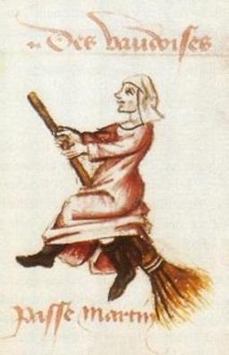 Sorcière médiévale sur son balai. Source : http://data.abuledu.org/URI/528c8fbd-sorciere-medievale-sur-son-balai