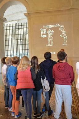 Sortie scolaire au musée de Lille. Source : http://data.abuledu.org/URI/585fff9a-sortie-scolaire-au-musee-de-lille