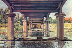 Sous le pont de Hampton Court. Source : http://data.abuledu.org/URI/5102ee7e-sous-le-pont-de-hampton-court