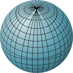 Sphère bleue. Source : http://data.abuledu.org/URI/5184476d-sphere-bleue