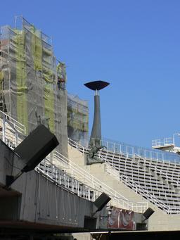 Stade olympique de Barcelone. Source : http://data.abuledu.org/URI/534a9f9b-stade-olympique-de-barcelone