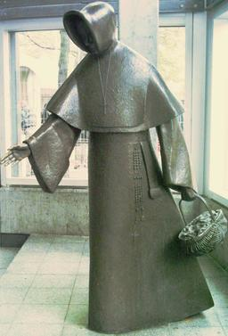 Statue au métro de Montréal. Source : http://data.abuledu.org/URI/59780eaf-statue-au-metro-de-montreal