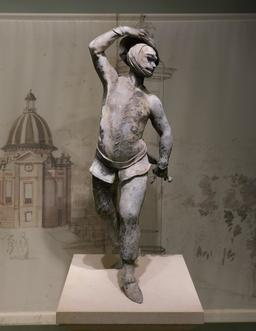 Statue d'Arlequin. Source : http://data.abuledu.org/URI/5874fc7c-statue-d-arlequin