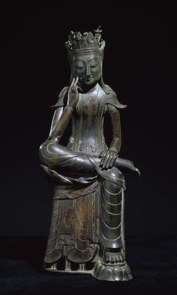 Statue de Bouddha penseur. Source : http://data.abuledu.org/URI/54afcb70-statue-de-bouddha-penseur