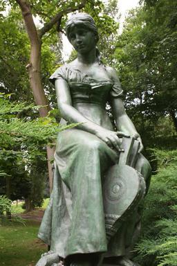 Statue de Cendrillon. Source : http://data.abuledu.org/URI/52b5d75d-statue-de-cendrillon