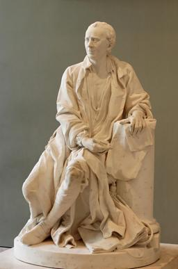 Statue de D'Alembert. Source : http://data.abuledu.org/URI/50c38041-statue-de-d-alembert