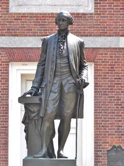 Statue de George Washington. Source : http://data.abuledu.org/URI/53130dac-statue-de-george-washington