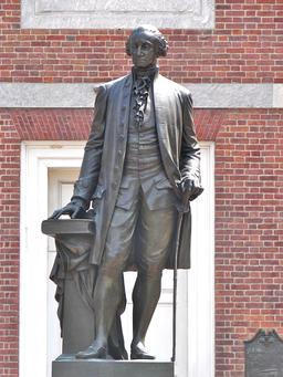Statue de George Washington. Source : http://data.abuledu.org/URI/53130dac-statue-de-george-washington