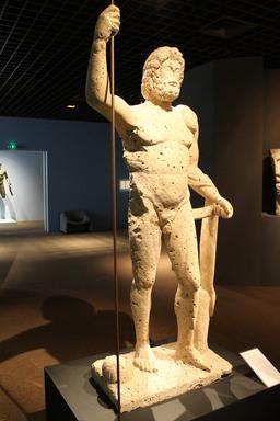 Statue de Jupiter de Mézin. Source : http://data.abuledu.org/URI/552af7b3-statue-de-jupiter-de-mezin