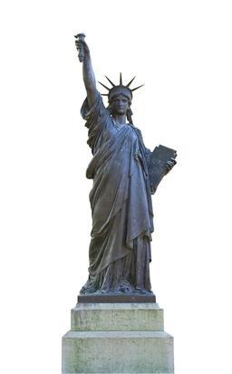 Statue de La Liberté  au Luxembourg. Source : http://data.abuledu.org/URI/53e343ba-statue-de-la-liberte-au-luxembourg