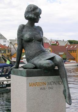 Statue de Marilyn Monroe en Norvège. Source : http://data.abuledu.org/URI/58753681-statue-de-marilyn-monroe-en-norvege