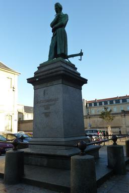 Statue de Mathieu de Dombasle à Nancy. Source : http://data.abuledu.org/URI/5819c25f-statue-de-mathieu-de-dombasle-a-nancy
